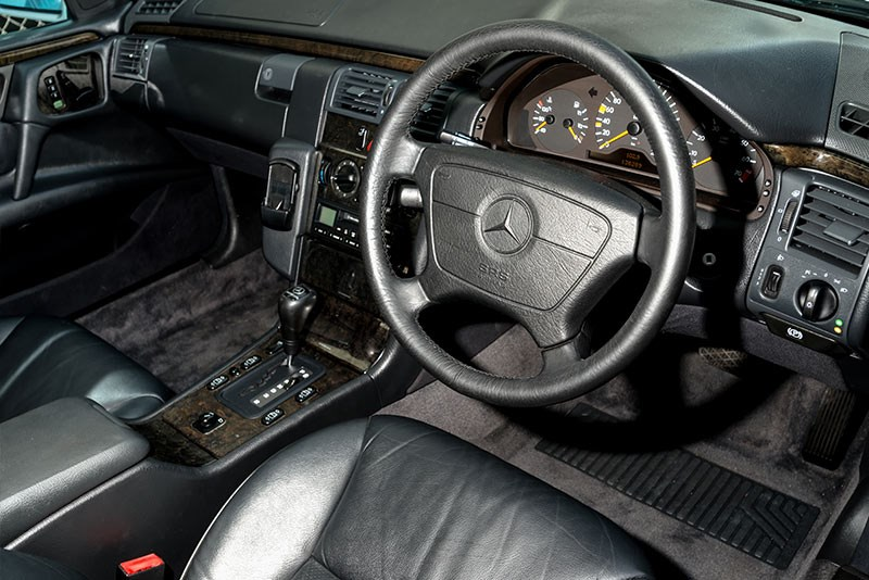 Mercedes Benz E36 AMG interior