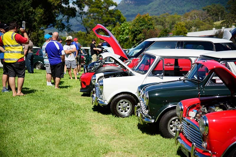 Minis in the Gong 36