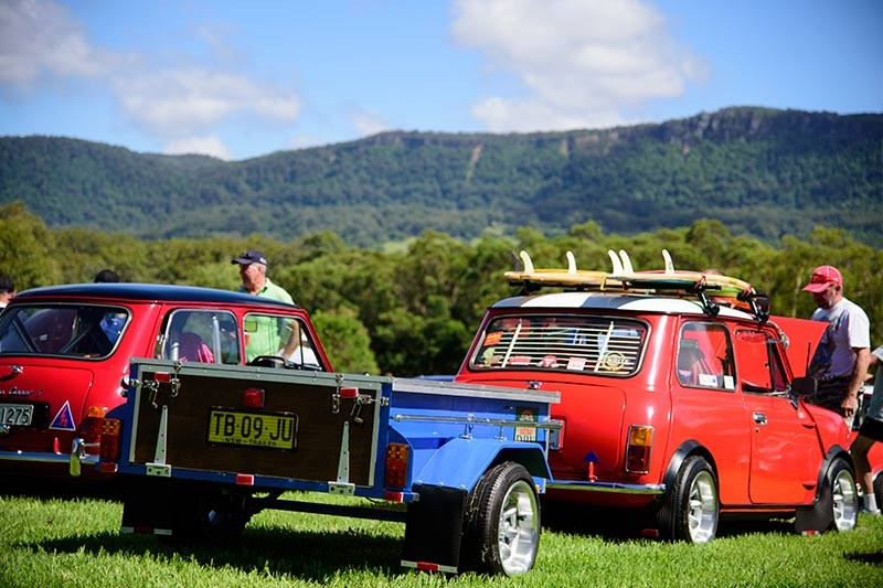 Minis in the Gong 45