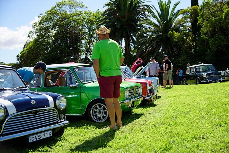Minis in the Gong 8