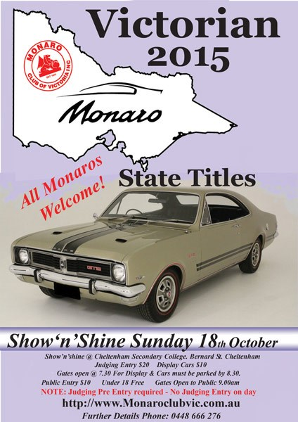 Monaro State Titles 2015