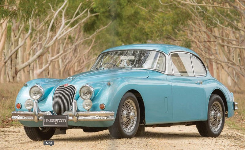 1958 Jaguar XK150 3.4-Litre Fixed Head Coupe
