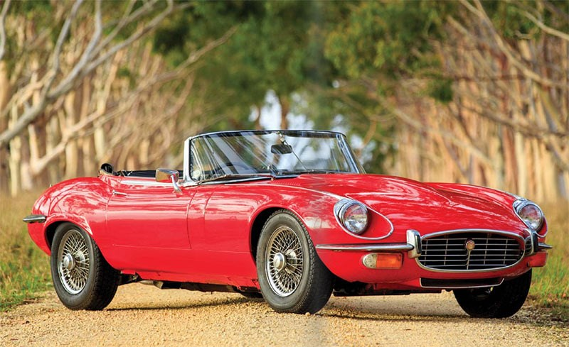 1972 Jaguar E-Type Series 3 V12 Roadster