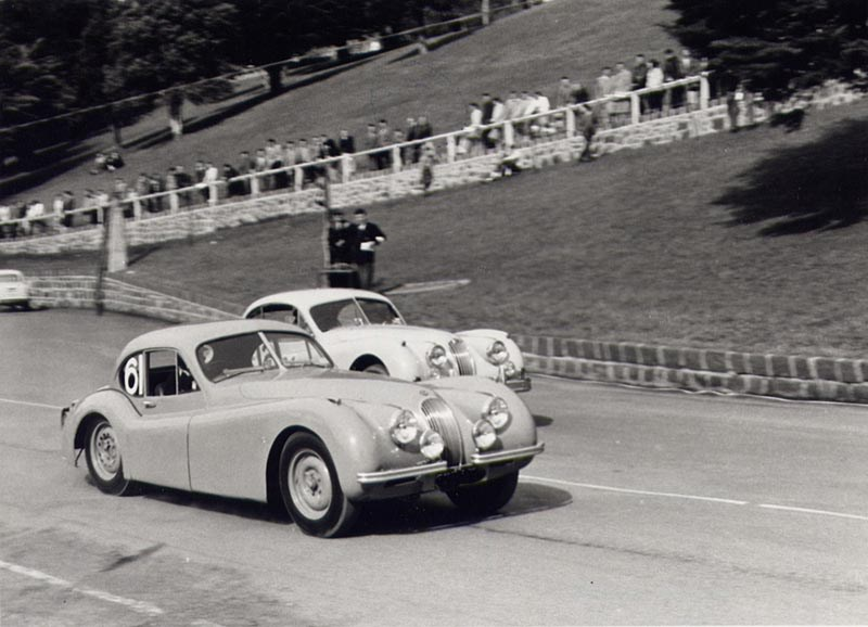 Murray XK120 Speed Trials 1958