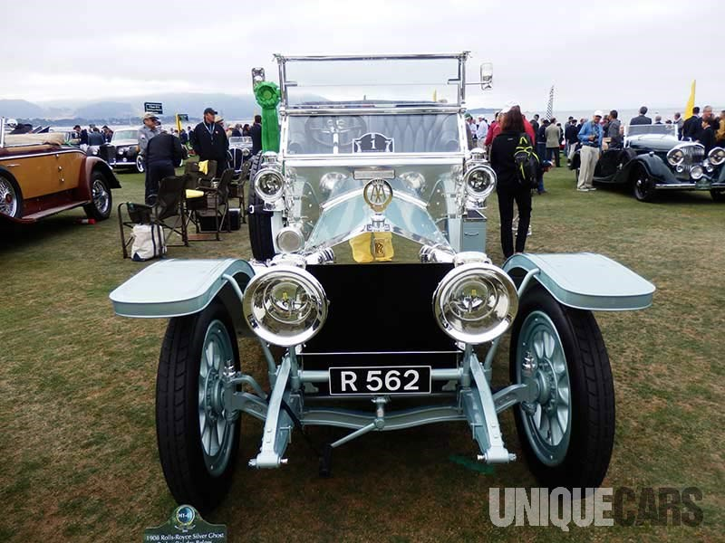 Over restored 1908 Rolls Royce Silver Ghost failed to gain traction with judges first owned by the Angas family from South Australia