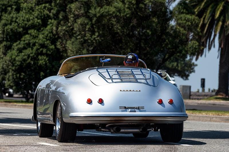 1958 Porsche 356a Speedster Replica Past Blast