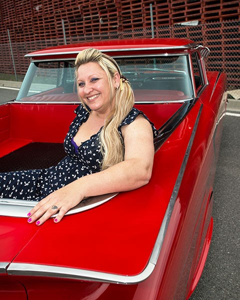 Lisa Avery's 1959 Chevrolet El Camino