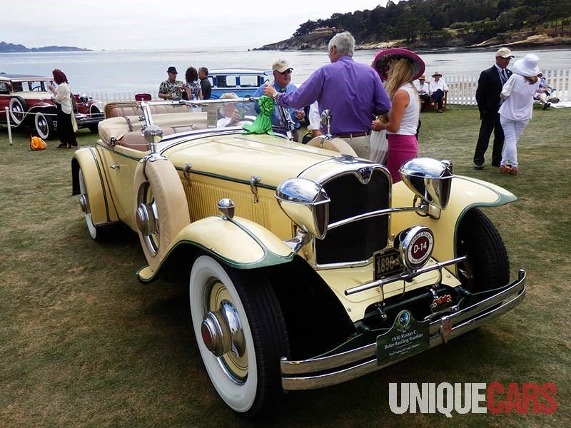 Rare 1930 Ruxton C Baker Raulang Roadster the last of 12 roadster built by the company
