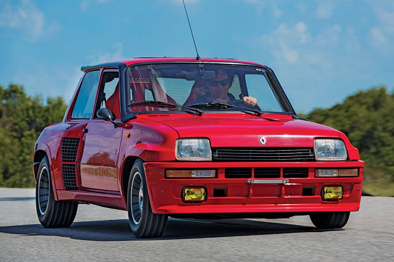 Renault 5 Turbo 2 Data motion front
