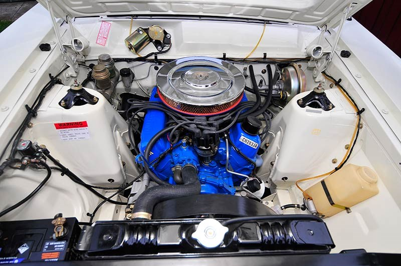TLC from a mate helped transform George's 302 V8 to near-stock sweetness. Larger carburettor and extractors generate extra performance