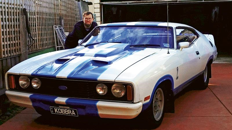 Travis Allan's 1978 Ford XC Falcon Cobra