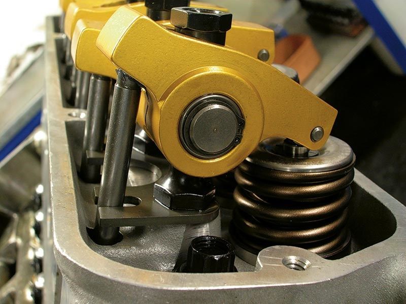 Much stronger shaft-mounted Crane rockers suit high performance springs