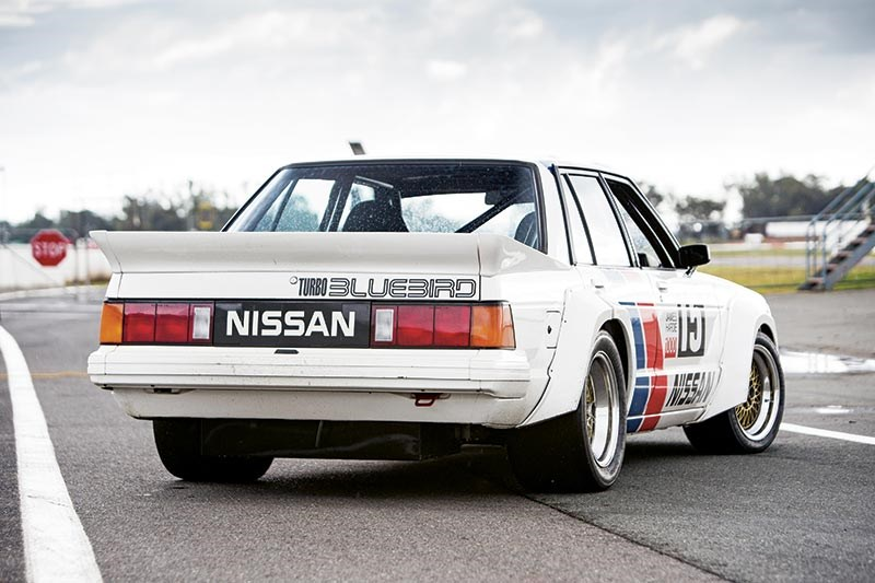 nissan bluebird turbo