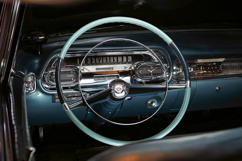 1958 Cadillac steering wheel