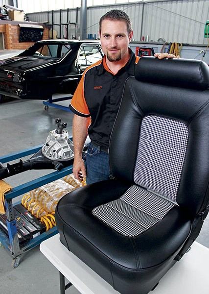 Custom-built seats retain original look but with far superior support