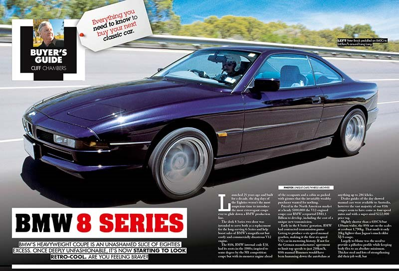 Buyer guide: BMW 8-series