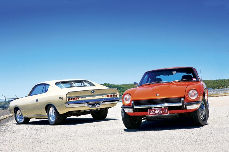 Datsun 240Z vs Chrysler Charger