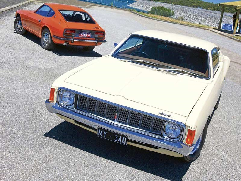 Chrysler Valiant Charger vs Datsun 240Z