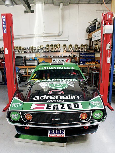 Jim Richards' Javelin