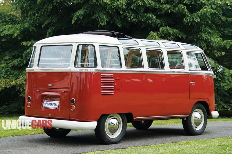 VW Kombi rear