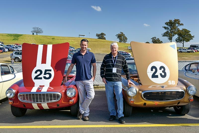 Brad & Kev Elliot with their 1963 1800S & 1969 1800S