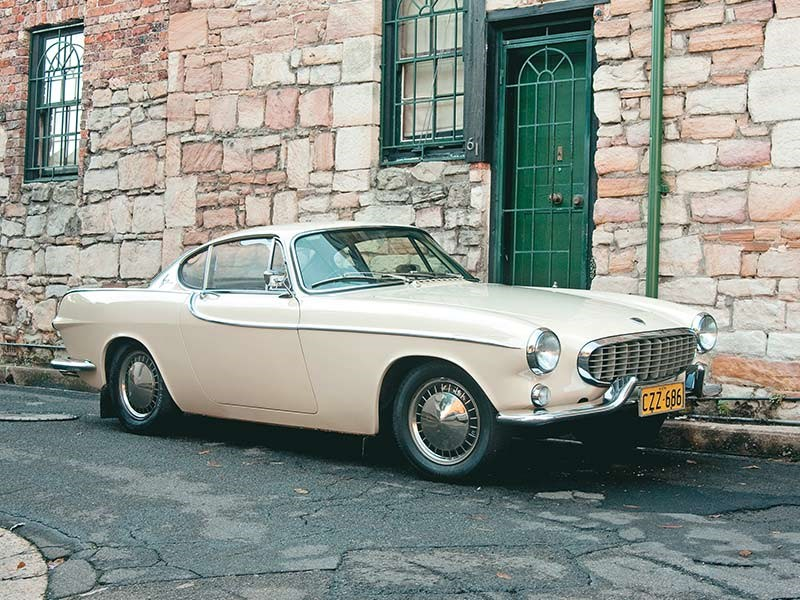 Volvo admitted the P1800's curves were penned by a Swede, not the Italians