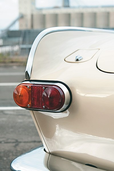P1800's voluptuous curves were an immediate hit in the swinging '60s