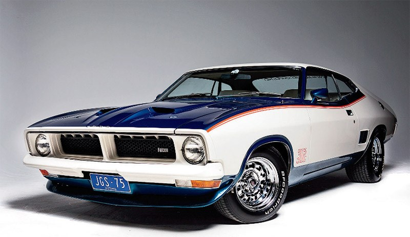 Robert Hilston's 1975 Ford Falcon XB John Goss Special