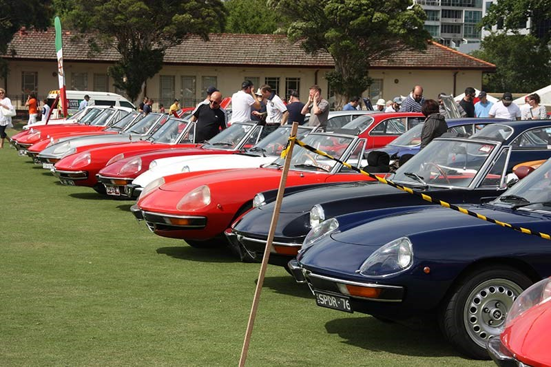 alfa romeo spider display 2