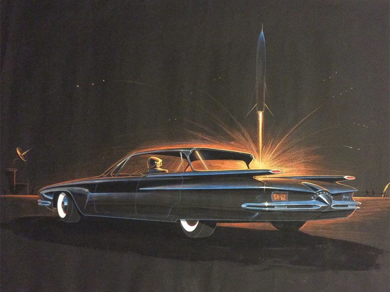 George Krispinsky Plymouth Fury 1958
