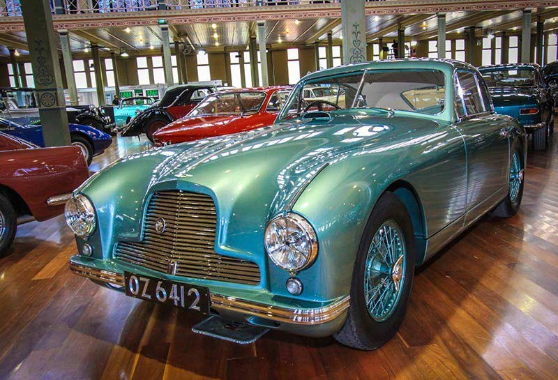 aston martin db2 at motorclassica