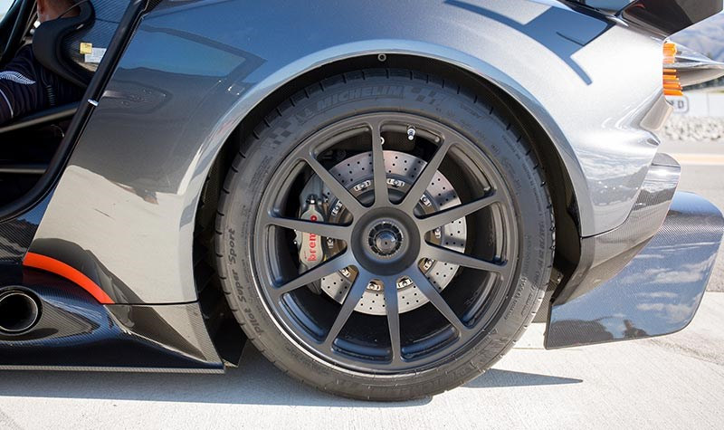 aston martin vulcan rear wheel