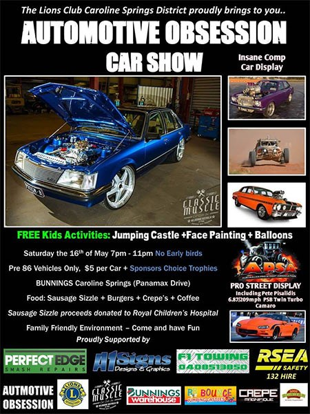 Automotive Obsession Car Show 2015
