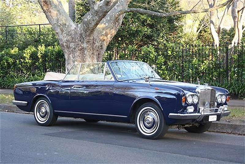 1968 Bentley T convertible