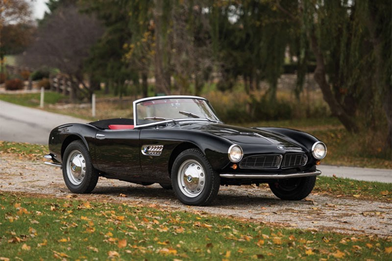 1959 BMW 507, unsold