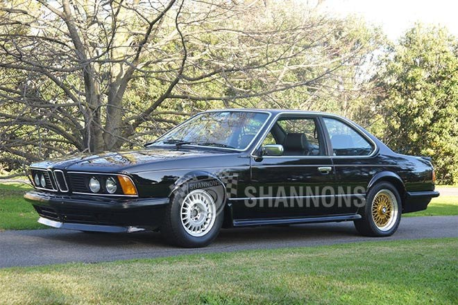 1983 BMW 635CSi 'JPS Prepared' Coupe – sold $6,000