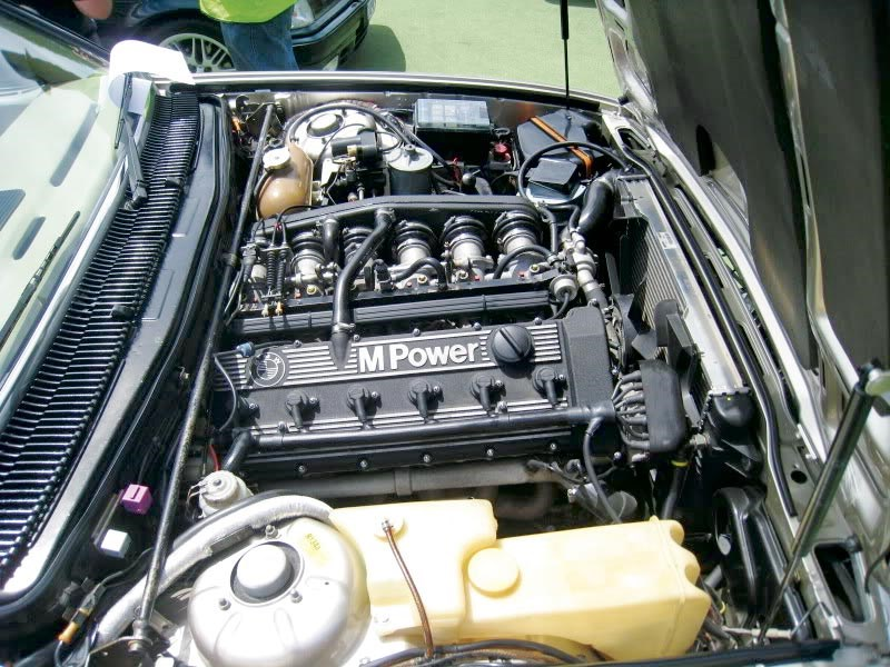 The M88 engine is one of the all-time greats