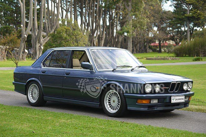 1986 BMW 535i Alpina B10 3.5  – sold $21,00