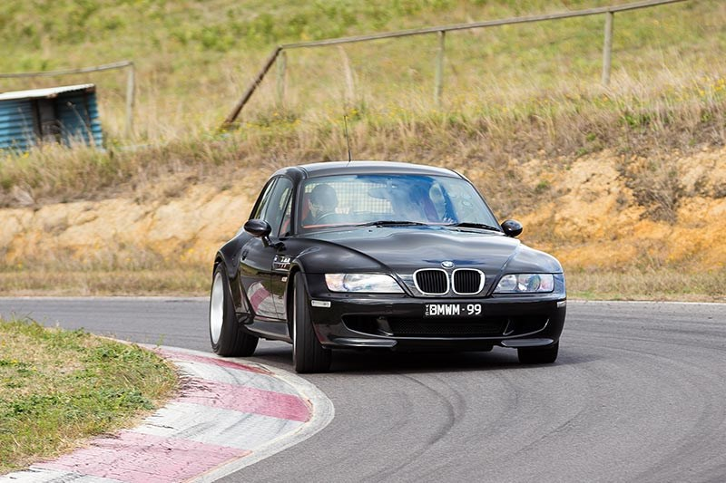 bmw z3 m coupe front ontrack