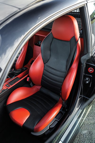 bmw z3 m coupe front seat