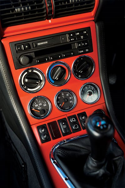 bmw z3 m coupe interior console