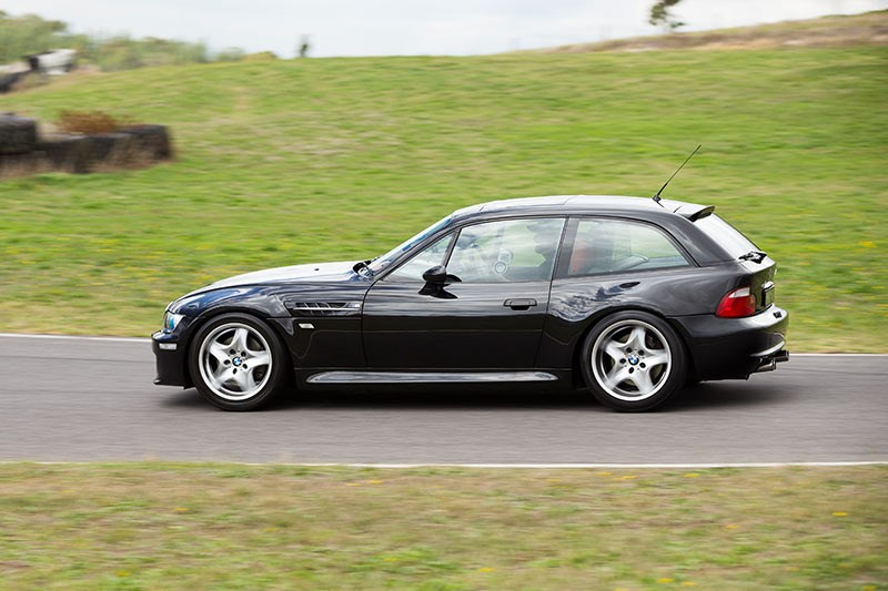 bmw z3 m coupe side ontrack