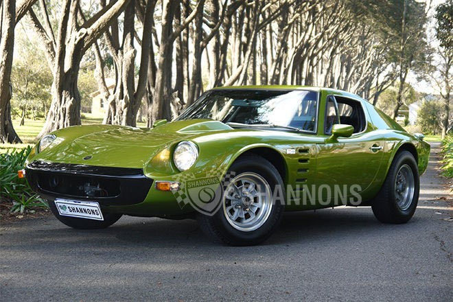 1973 Bolwell Nagari 351 V8 Coupe – sold $64,000