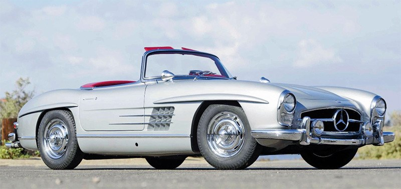 Demand for the 300SL continues to be strong with seven-digit prices becoming the norm