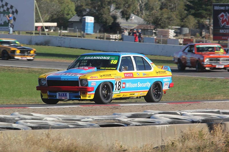 John Bowe-O'Brien Torana at Winton