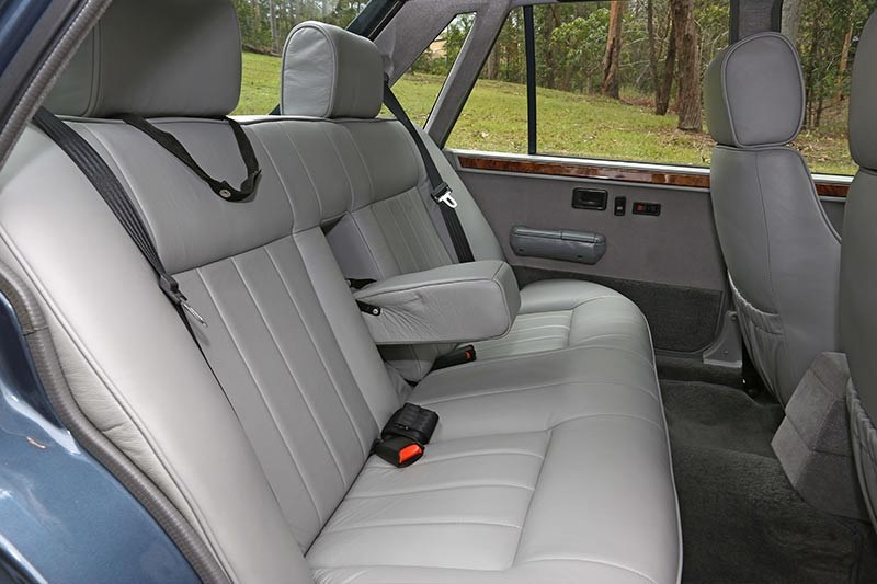 brock hdt director interior rear
