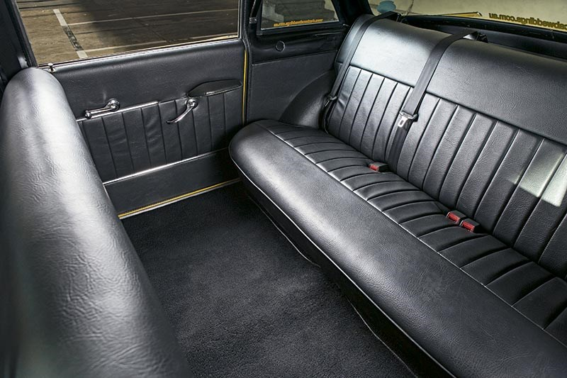Checker rear compartment