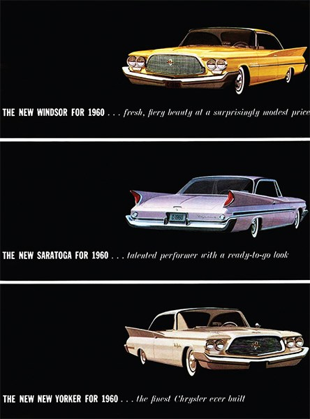 Chrysler model line