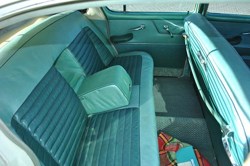 chrysler royal interior rear
