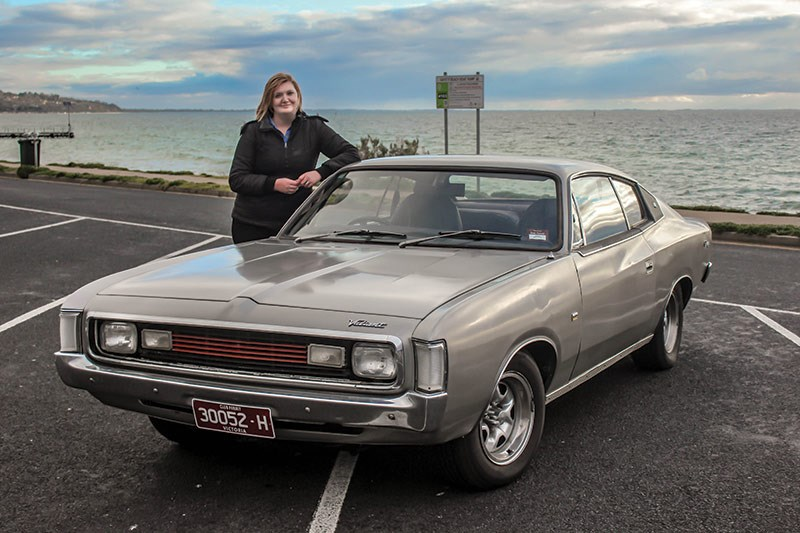 chrysler valiant charger Jacqui Dickin